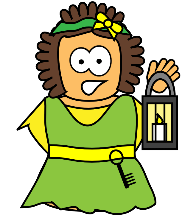 Rhoda's Discovery (Acts 12)   Character Images