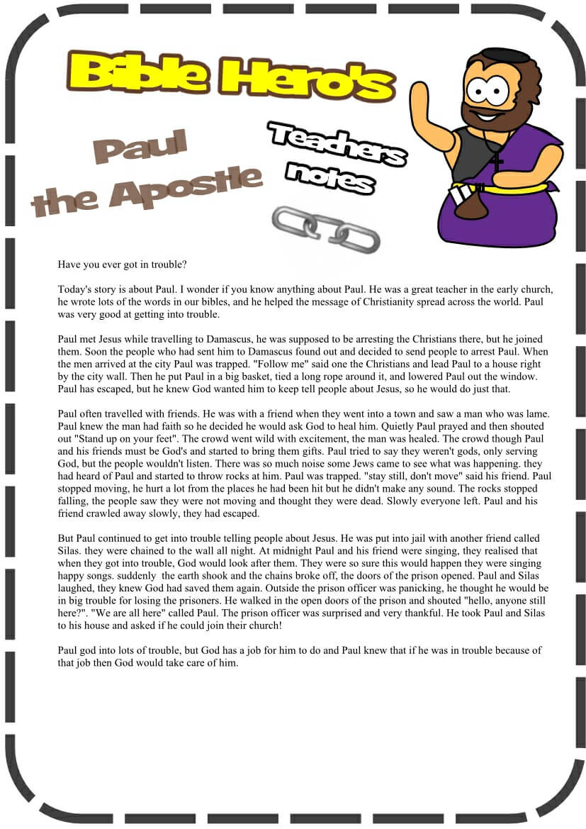 Early Life of Paul - Escapes | Story