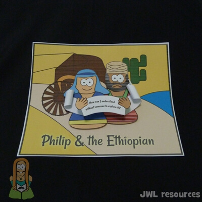 Philip & Ethiopian (Acts 8) | Make