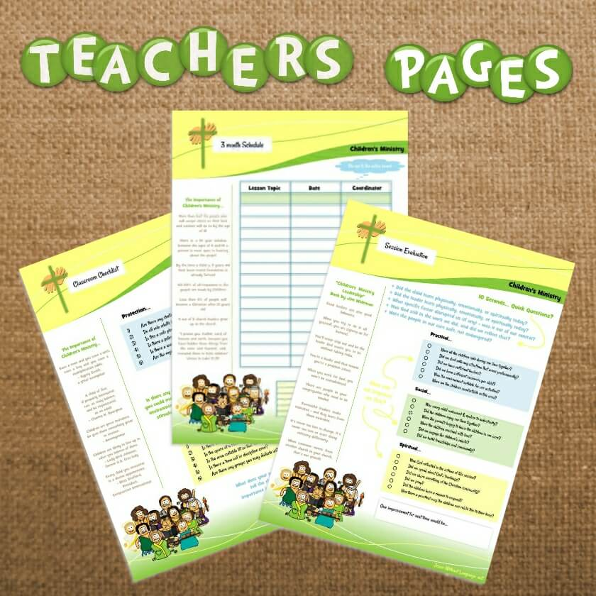 Teachers Pages