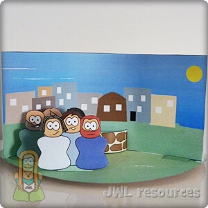 Woman at the well (John 4)   Craft 1