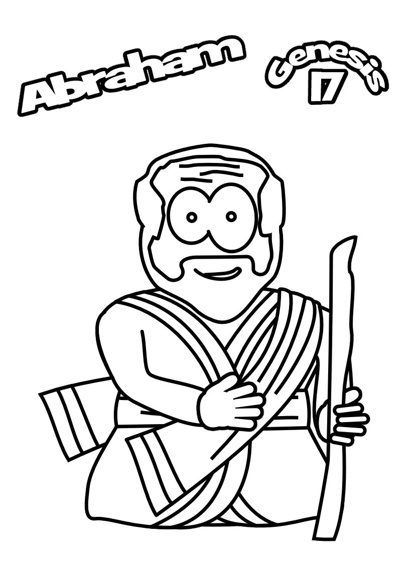 46-Colouring-Abraham