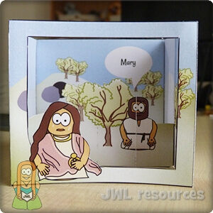 Mary Magdalene (John 20) | Craft 1