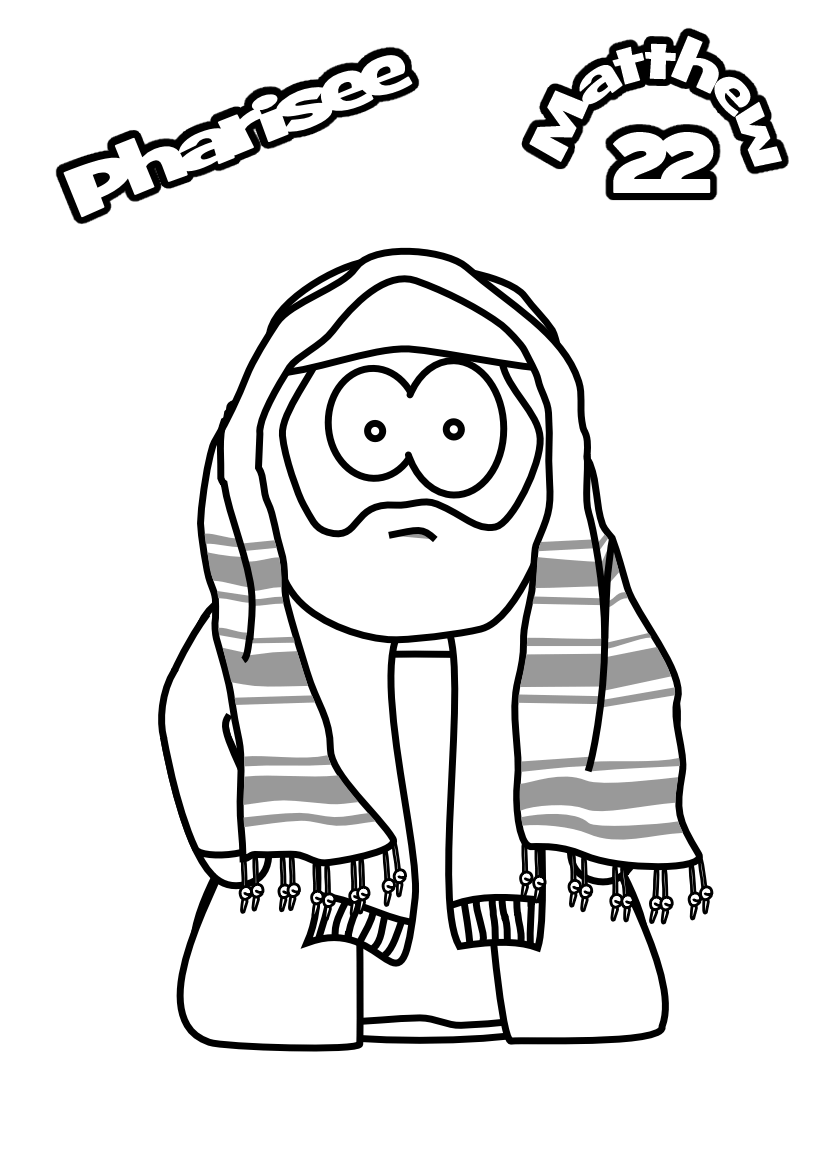66-Colouring-page-Pharisee