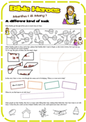 Martha & Mary worksheet 2