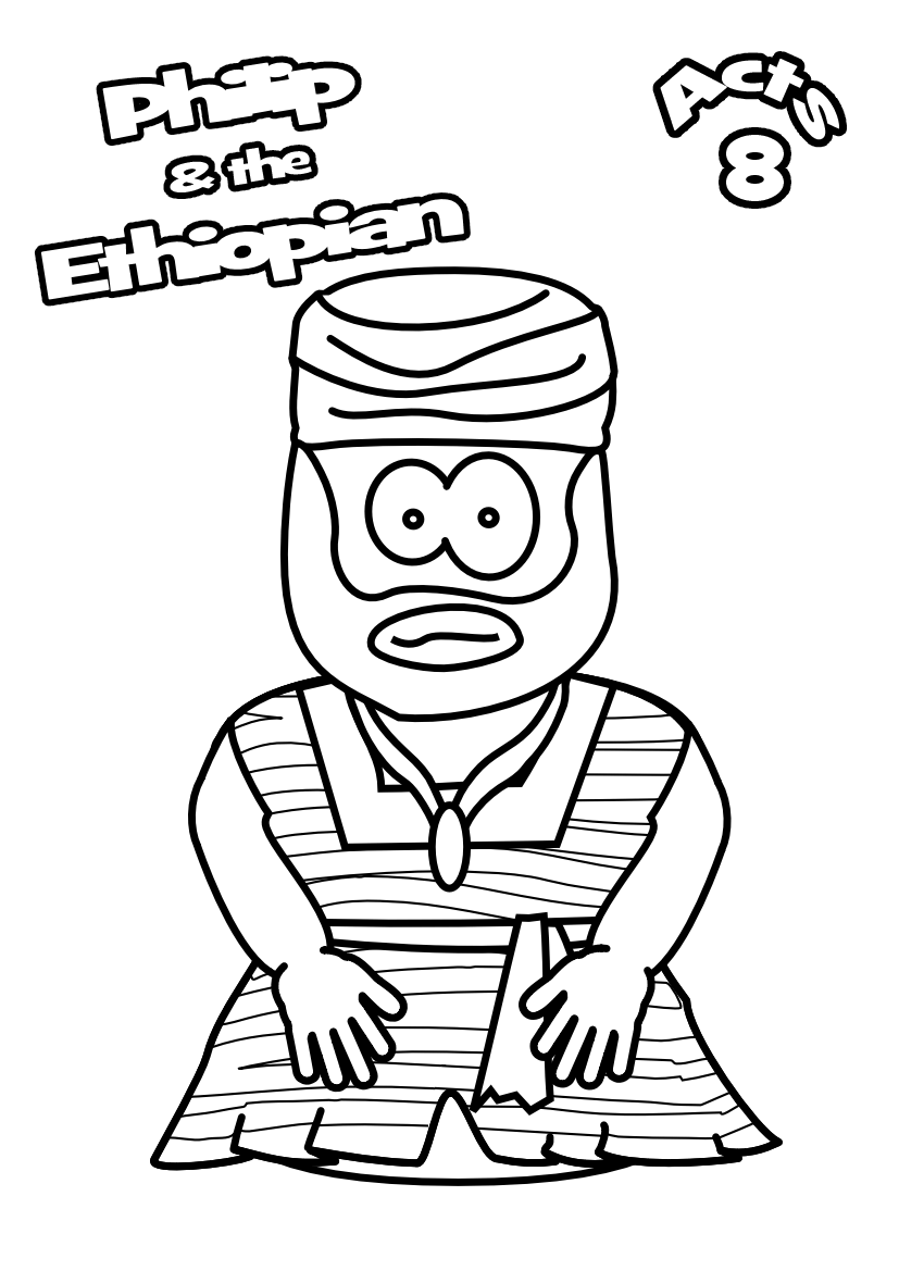 22-Ethiopian-Colouring-page