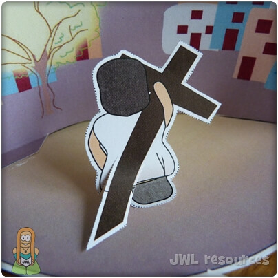 Witnesses to the crucifixion | Make 2