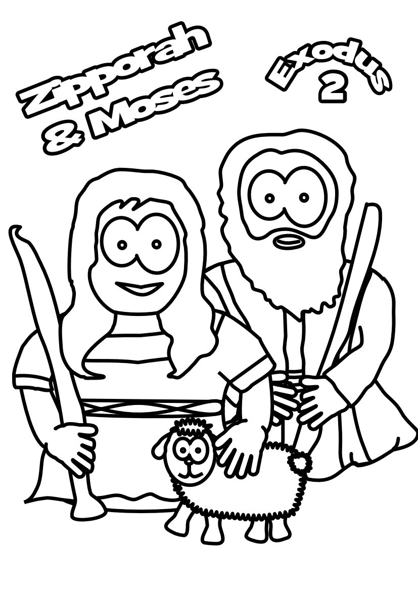75-Zipphorah+Moses-colouring