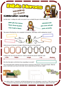 Wedding at Cana Worksheet