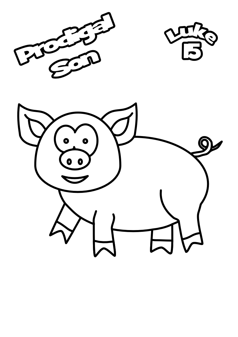 84-Pig-colouring