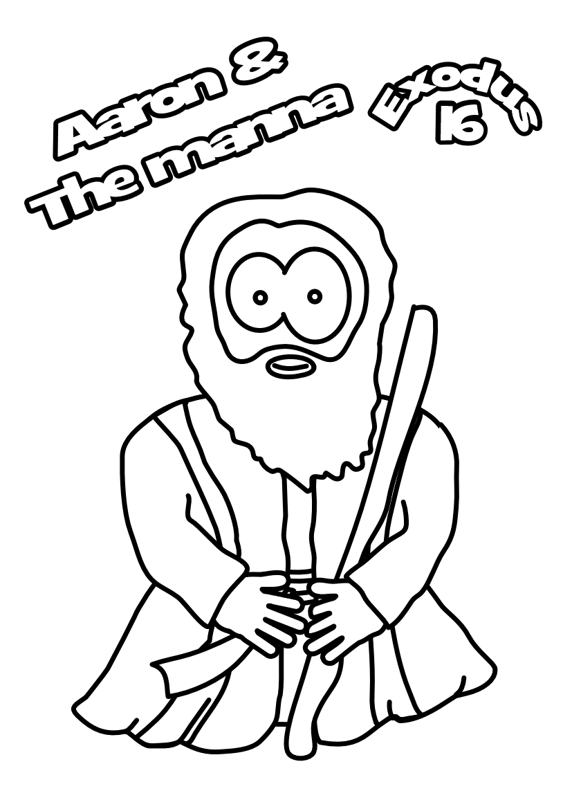 85-Colouring-page-Moses
