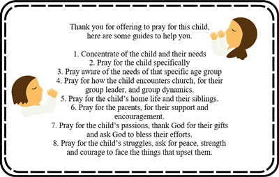 One Child - One Week - Prayer