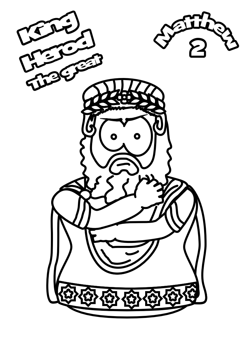 88-Herod-the Great-Colouring-page