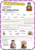 Herod the Great (Matthew 2) Worksheet