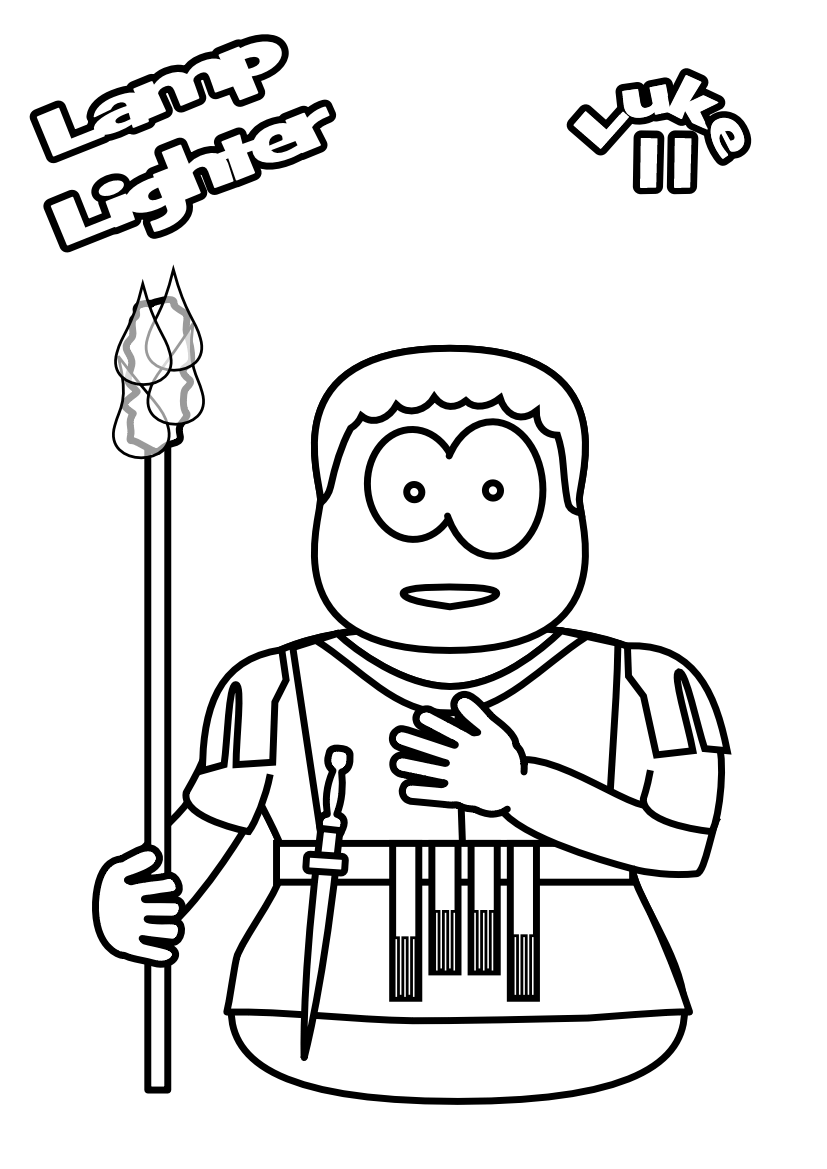 89-lamp-lighter-Colouring-page