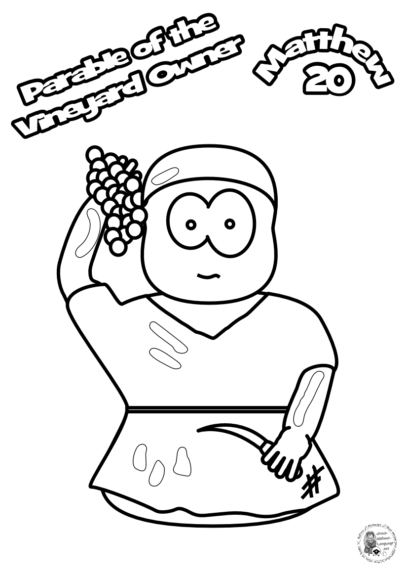 100-Worker-1-Colouring-page