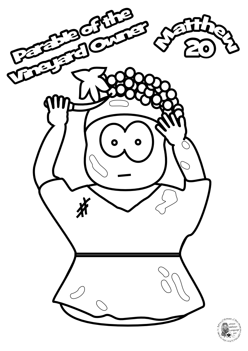 100-Worker-3-Colouring-page
