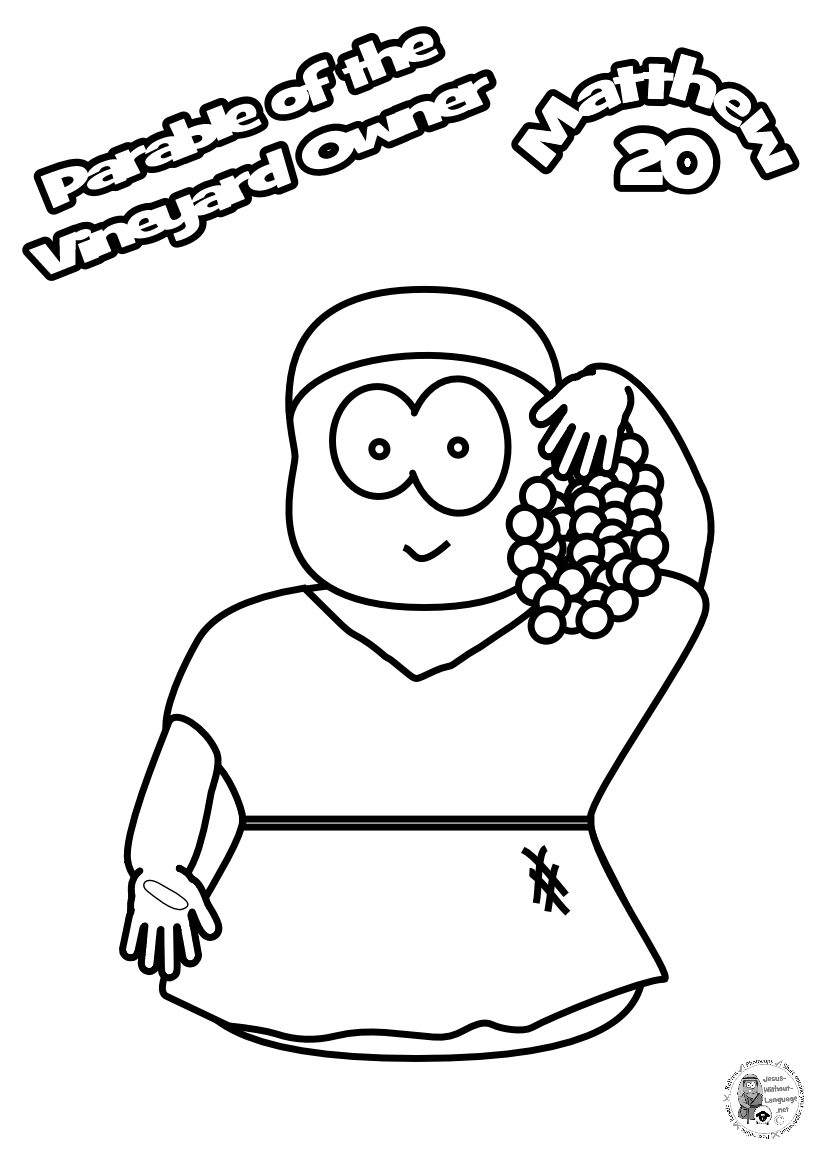 100-Worker-4-Colouring-page