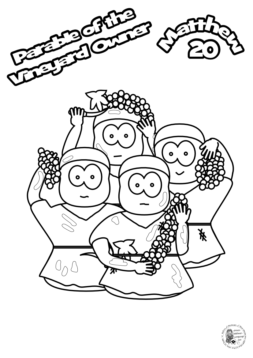 100-Worker-group-Colouring-page