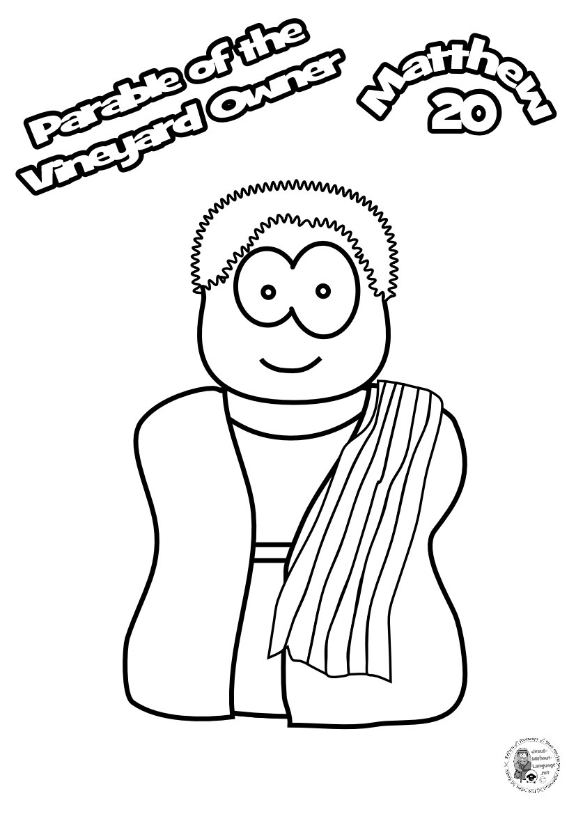 100-Vineyeard-owner-Colouring-page