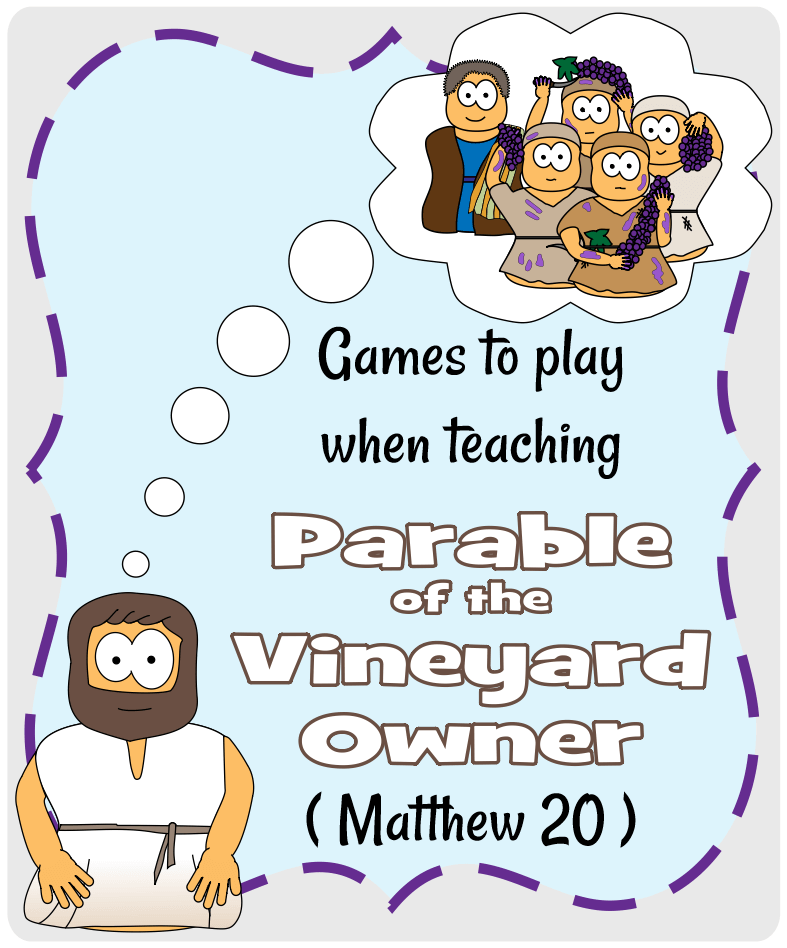 Parable of the Vineyard Owner (Matthew 20)-Games