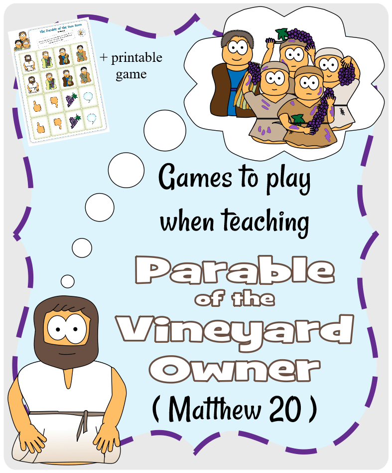 Parable of the Two Sons (Matthew 21) - Games