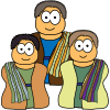 Parable of the Two Sons (Matthew 21)   Character Images