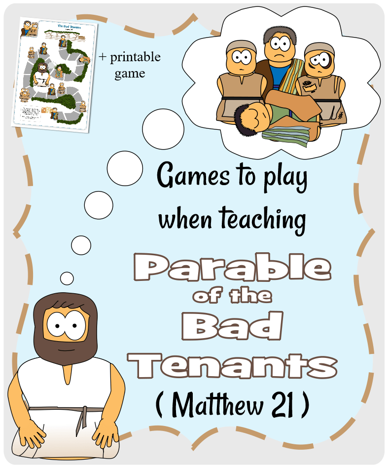Parable of the Bad Tenants (Matthew 21) - Games