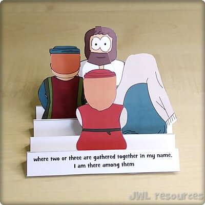 2 or 3 are gathered (Matthew 18) | Craft 2