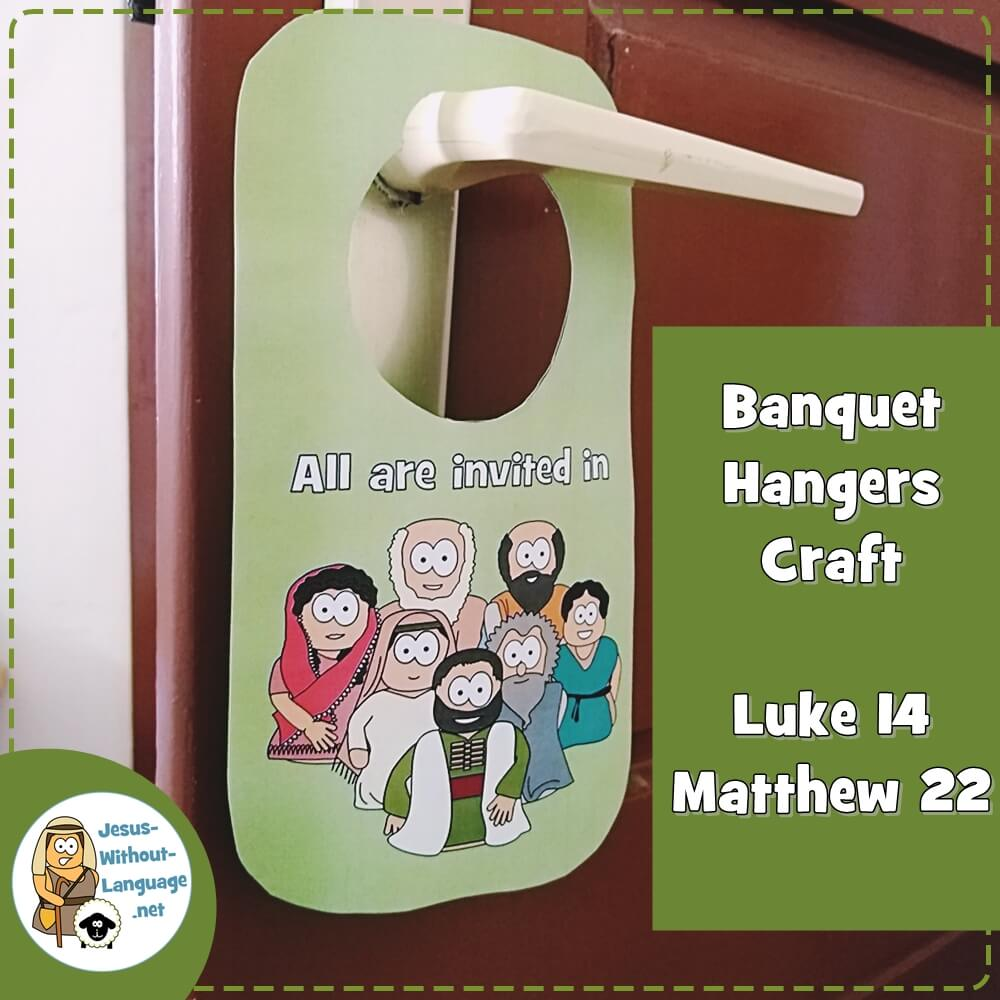 Parable of the Banquet Guests (Luke 14) | Craft 1