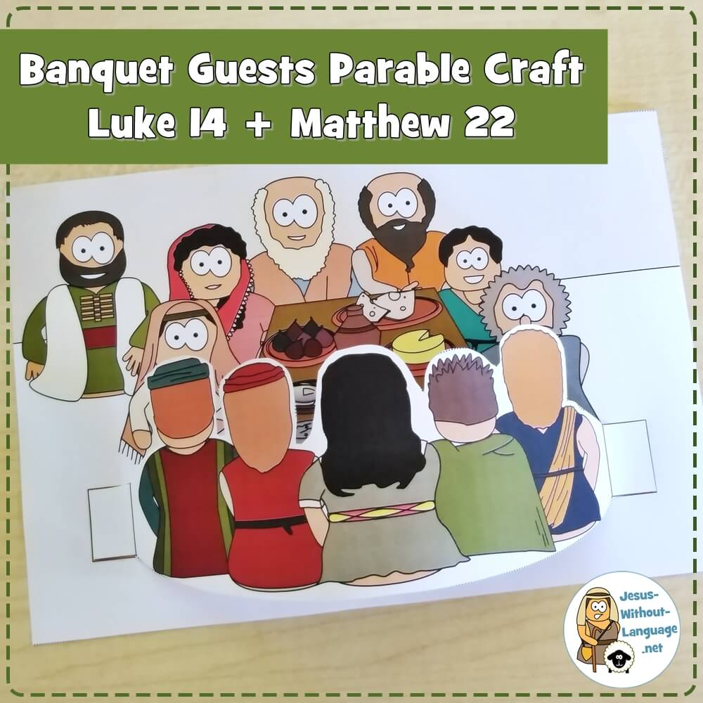 Parable of the Banquet Guests (Luke 14) | Craft 2