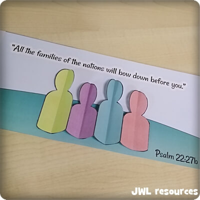 Psalm 22 | Craft roundup