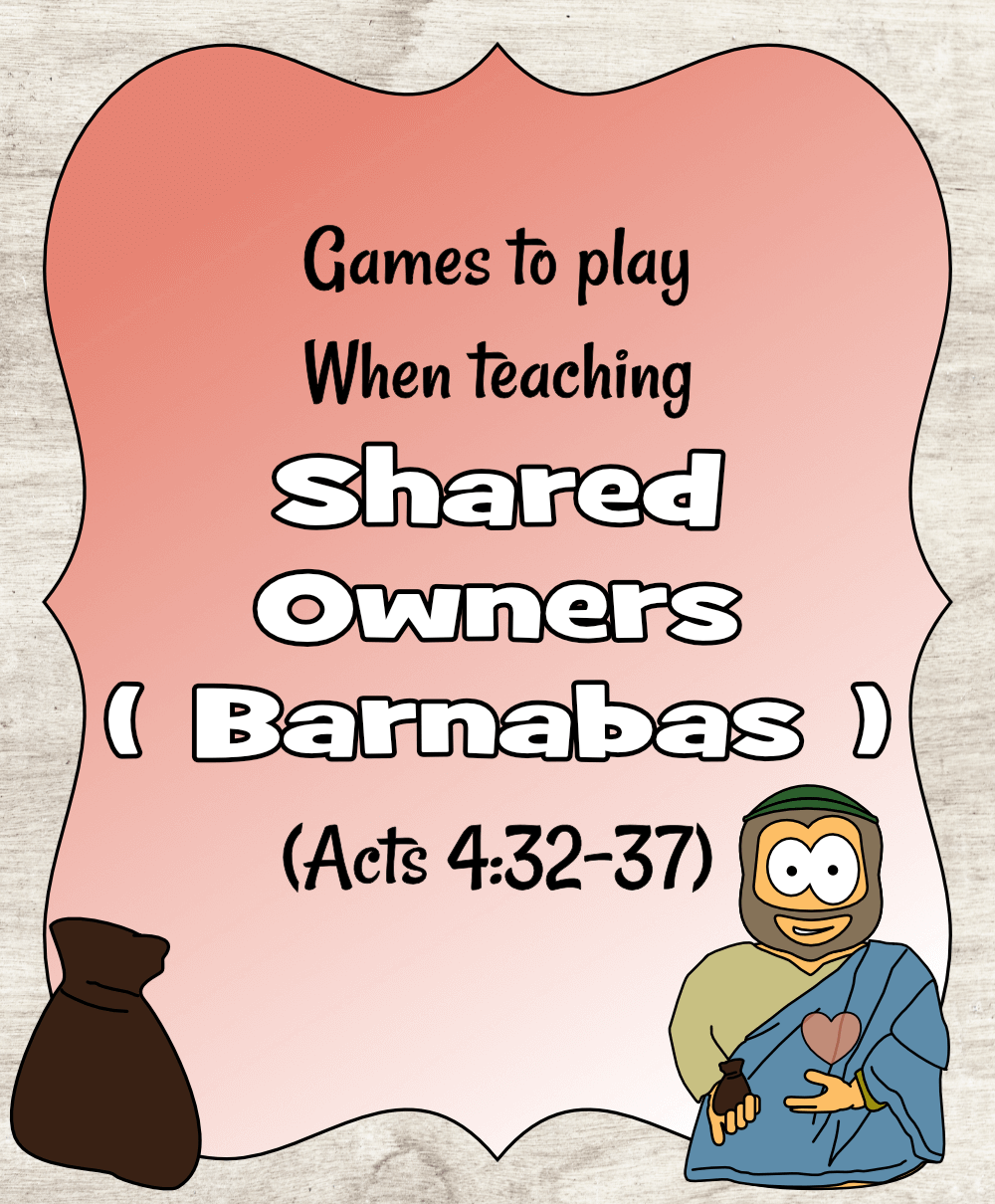 Shared Owners (Acts 4) - Games