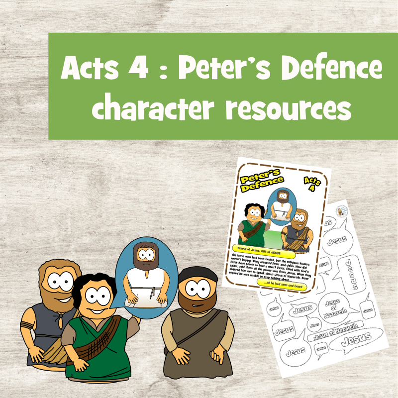Peter's Defence (Acts 4)