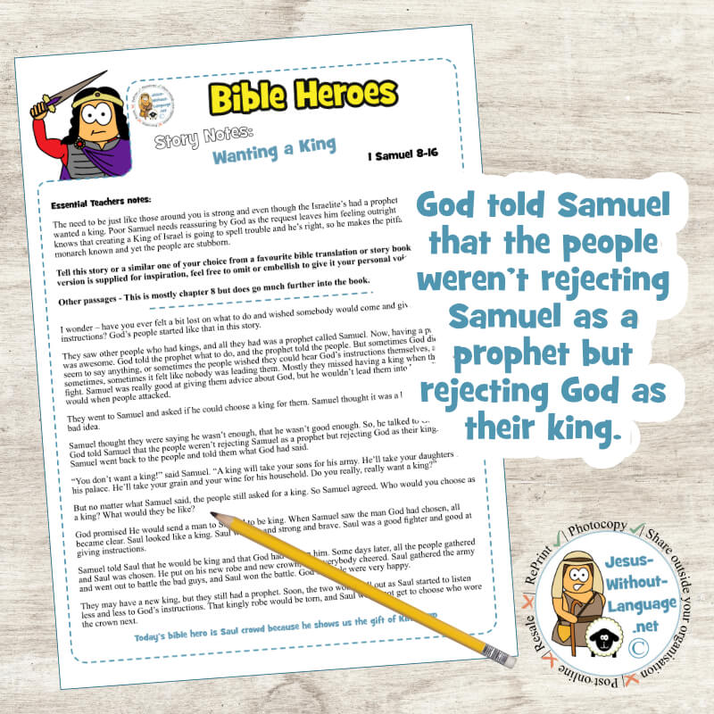 Wanting a King (1 Samuel 8) | Story
